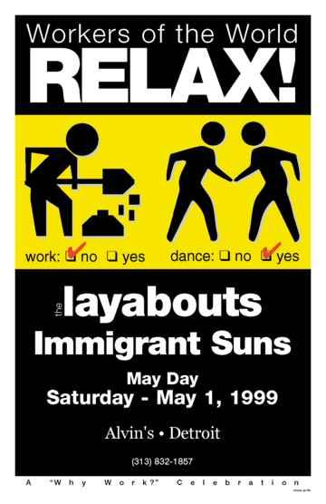 Layabouts poster